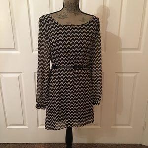 Dresses & Skirts - Chevron pattern dress